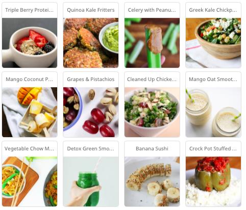 Time-Saving Clean Meal Plan